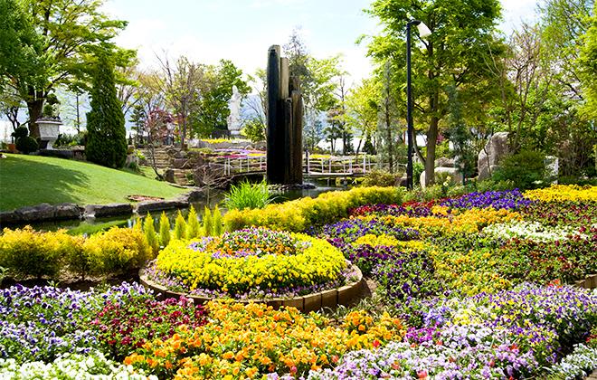ハーブ庭園勝沼庭園